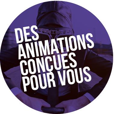 Un programme d'animations réalisé tout au long de l'année
